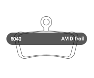 RWD Disc Pads - Avid Trail